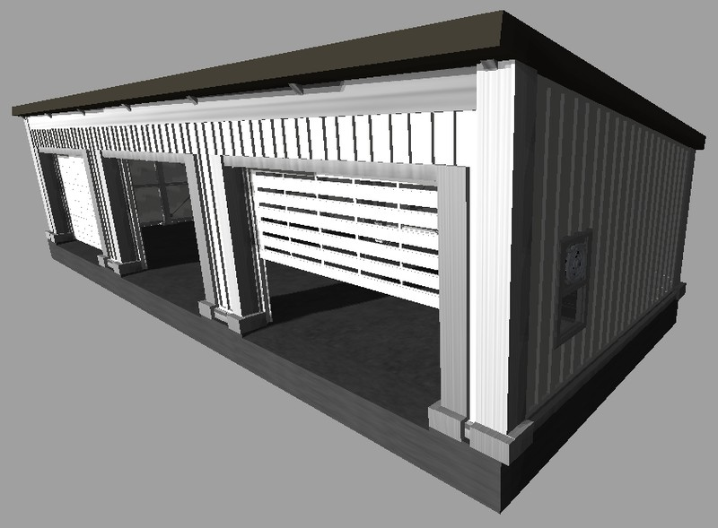 ls 2011 garage mit rolltoren gro v 2 1 objekte mod f r landwirtschafts simulator 2011. Black Bedroom Furniture Sets. Home Design Ideas