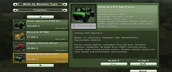 Unimog-1450-agrofarm