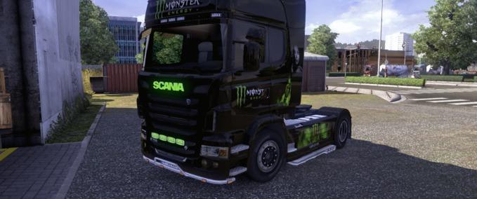 Scania-monster-skin-interior