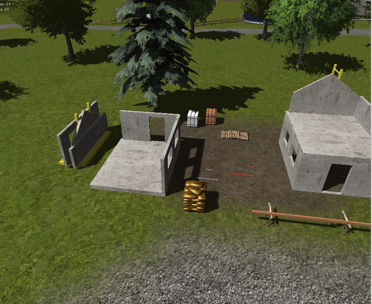 Fs 2013 homes construction set v 1 0 objects mod f r for Home building simulator