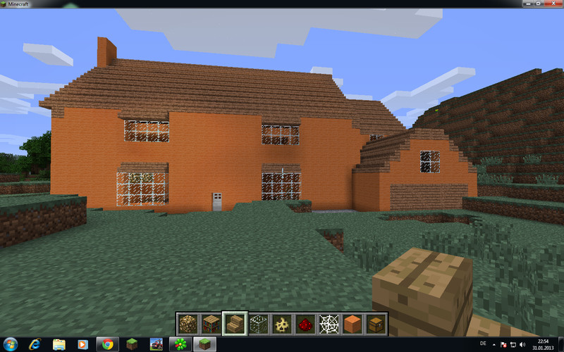 minecraft simpsons haus v 2 0 maps mod f r minecraft. Black Bedroom Furniture Sets. Home Design Ideas