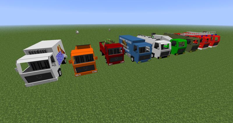 Скачать Spino's Vehicles Mod (Мод машин) для Minecraft 1.7.10