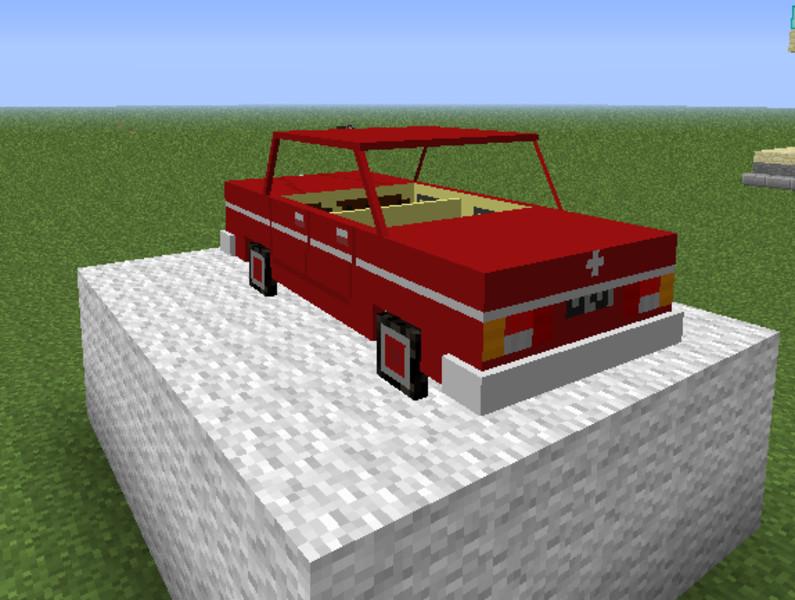 Minecraft Mustang Car Mod