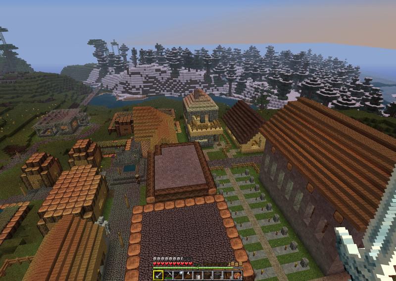 Minecraft: Sager village life 1984 v 0 1 Maps Mod für Minecraft