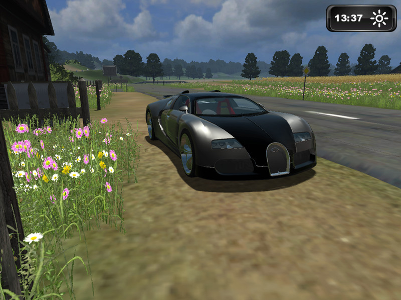 fs 2013 bugatti v 1 0 cars mod f r farming simulator 2013. Black Bedroom Furniture Sets. Home Design Ideas