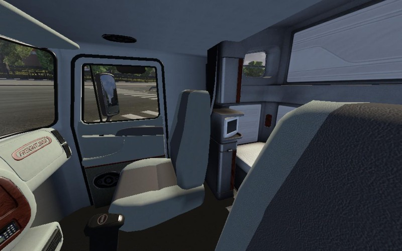 Cascadias Freightliner Sleeper Interior Pictures To Pin On Pinterest Pinsdaddy