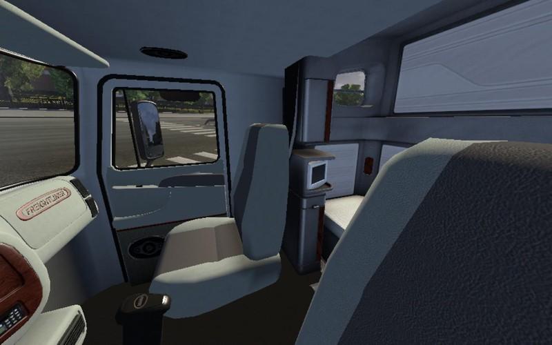 Ets 2 Freightliner Cascadia V 1 0 Interieurs Mod F R Eurotruck Simulator 2
