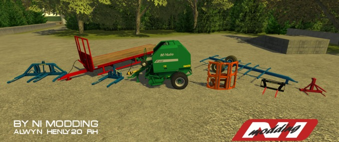FS 2011/2013: Trailers Balers Mods for Farming Simulator 2011/2013