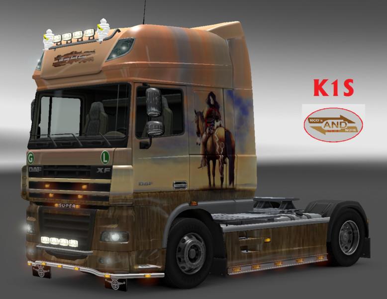 Ets 2 The Way Back Home Daf Skin V 1 0 By K1s Daf Mod F 252 R