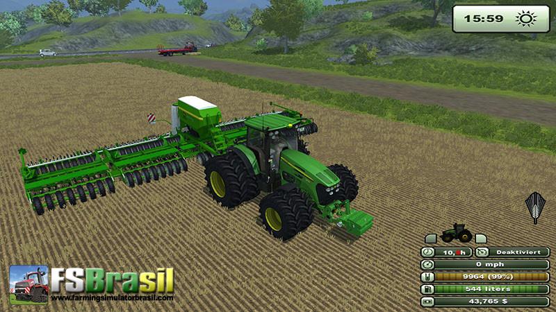 Biggest Seeder Of John Deere: FS 2013: Planter John Deere Multi Seeder 18L V 1.0 Seeders