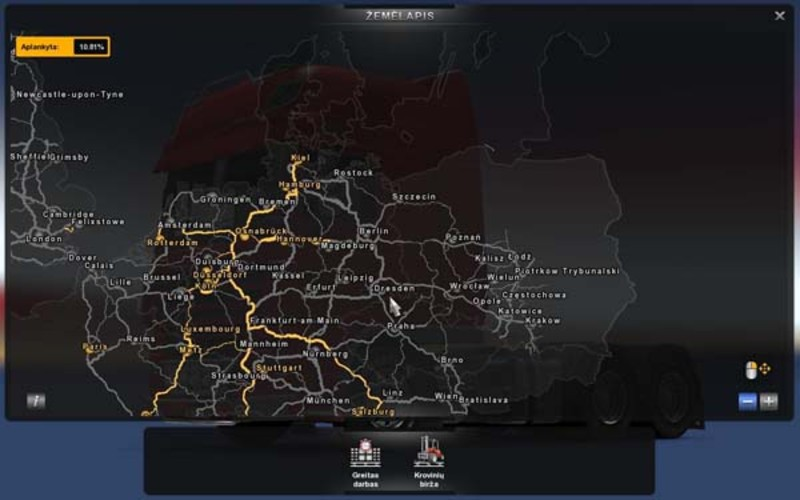 Ets 2 Map Of Poland V Beta Maps Mod Fur Eurotruck Simulator 2