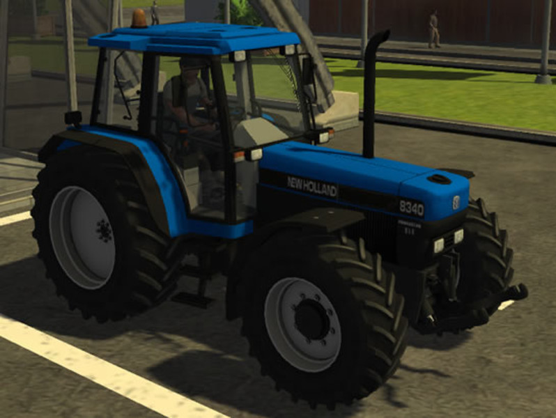 New Holland 8340 97