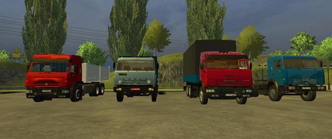 Kamaz-truck-pack