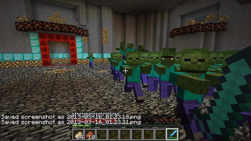 Minecraft: Monster arena battle v 1 0 Maps Mod für Minecraft