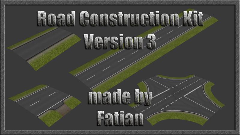 Fs 2013 Road Construction Kit V 3 0 Objects Mod F 252 R Farming Simulator 2013