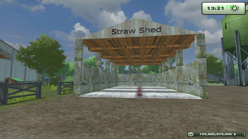 FS 2013: Irreplaceable Straw Shed v 2 Placeable Objects Mod für