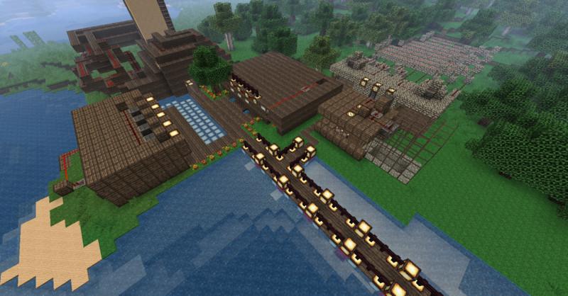 minecraft haus am meer v 4 0 maps mod f r minecraft. Black Bedroom Furniture Sets. Home Design Ideas