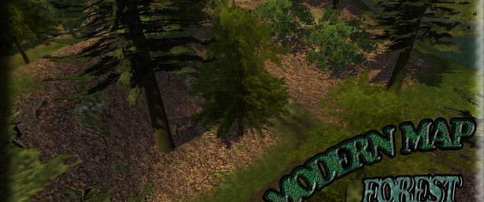 Forest-map-modern-map