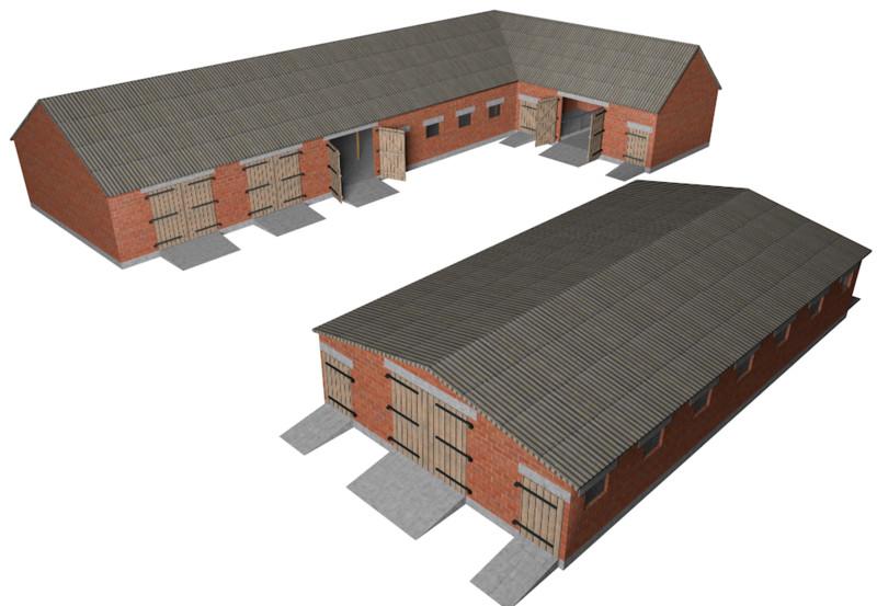 LS 2013: Kuhstall v 1 by Valkiria84 Gebäude mit Funktion Mod für ...: https://www.modhoster.de/mods/kuhstall-by-valkiria84