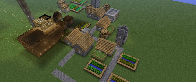 Minecraft Small Map With A Few Recreational Facilities V Maps - Maps fur minecraft 1 8 8