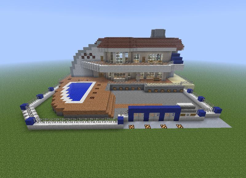 Minecraft Luxury Villa V 1 5 1 Maps Mod Fur Minecraft Modhoster Com