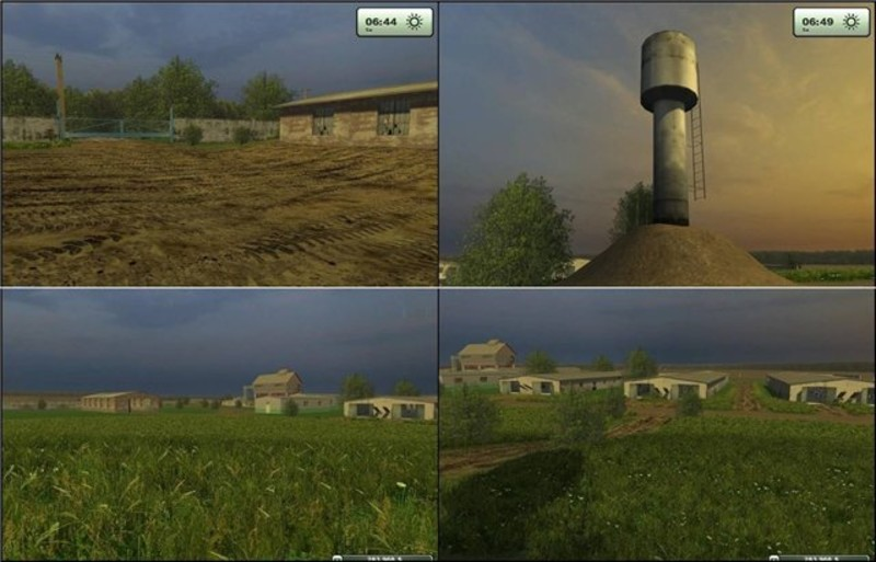 LS 2013: Russian Map v 1.0 Maps Mod für Landwirtschafts Simulator ...ls russian models