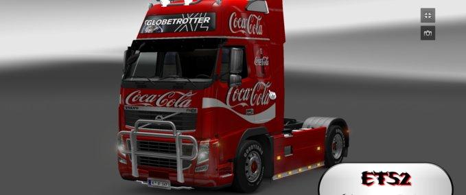 Coca-cola-volvo-skin