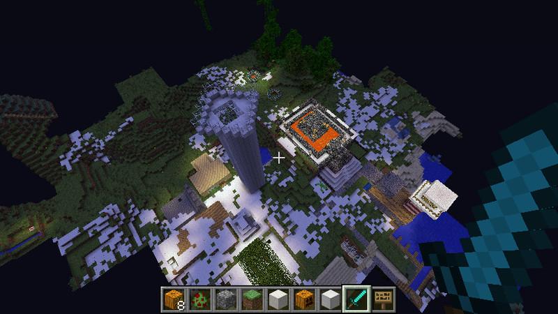 minecraft gro es haus v 4 0 maps mod f r minecraft. Black Bedroom Furniture Sets. Home Design Ideas