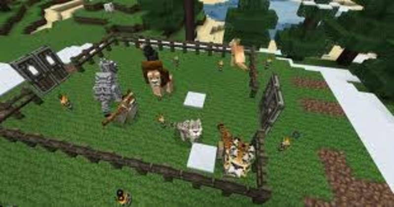 Minecraft Modpacket V Mods Mod Für Minecraft Modhosterde - Minecraft mit tieren spielen