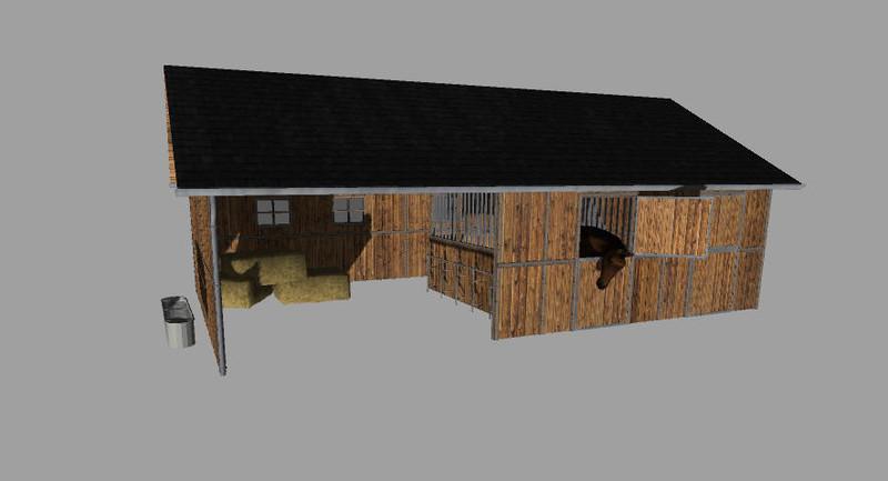 ls 2013 platzierbarer pferdestall mit wassertrigger v 1 0 platzierbare objekte mod f r. Black Bedroom Furniture Sets. Home Design Ideas