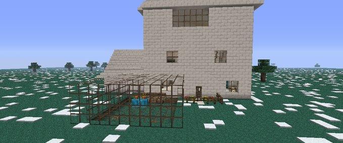 Minecraft Houses Construction V Maps Mod Für Minecraft - Minecraft hauser video