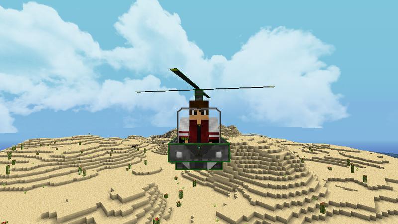 Als nächstes macht ihr das gleiche mit dem thx helicopter mod 1 5 1