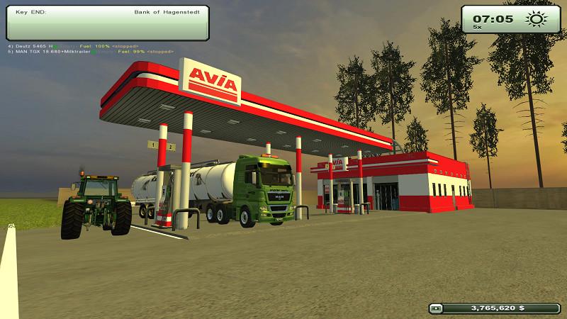 Fs 2013 Gas Avia Station V 1 0 Placeable Objects Mod F 252 R Farming Simulator 2013