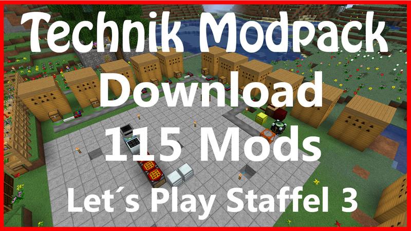Minecraft: 115 mods modpack installation technology v