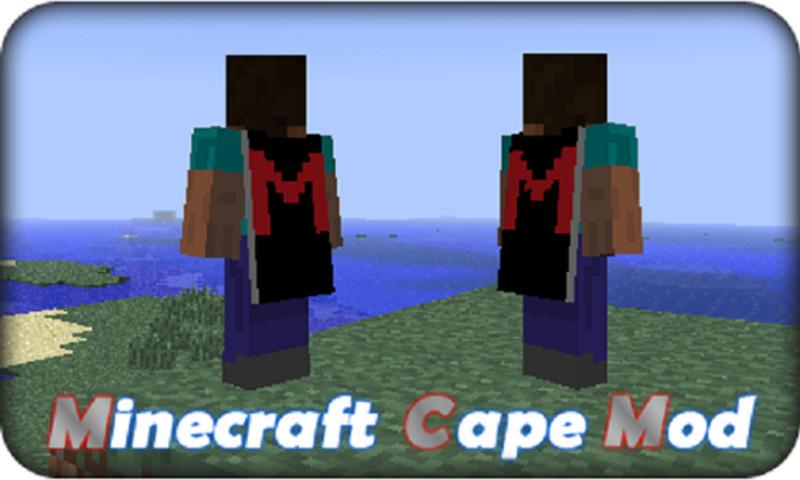 Minecraft: Minecraft Cape Mod v 1 5 2 Mods Mod für Minecraft