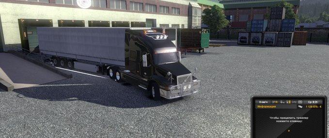 скачать мод вольво внл 660 для Euro Truck Simulator 2 - фото 10