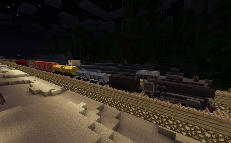 Minecraft Railcfat Traincraft Mod V Mods Mod Für Minecraft - Minecraft zug spiele