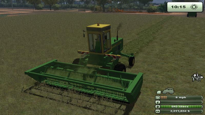 FS 2013: John Deere 2280 Swather v 2 0 Mower Mod für Farming