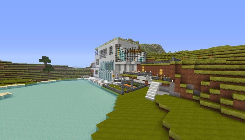 Minecraft House Of Quartz V Maps Mod Für Minecraft - Minecraft 3 kleine hauser
