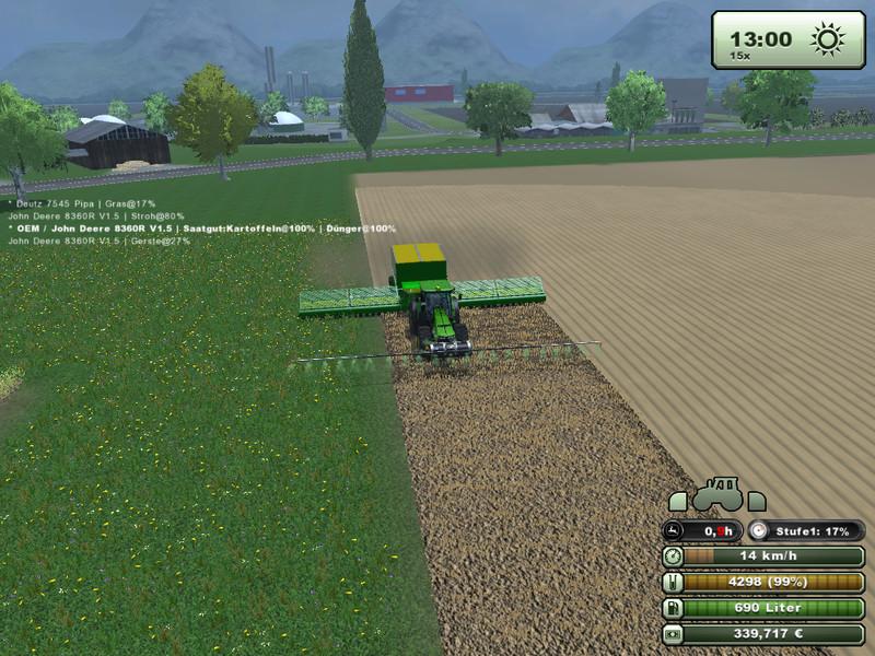 LS 2013: Meran v 2 5 Maps Mod für Landwirtschafts Simulator 2013