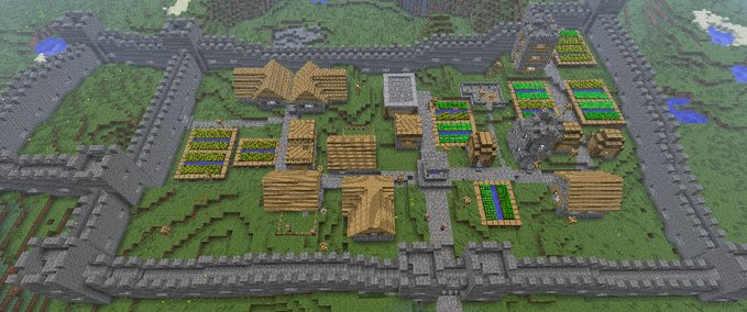 Mineraft Maps Like Cake Defense