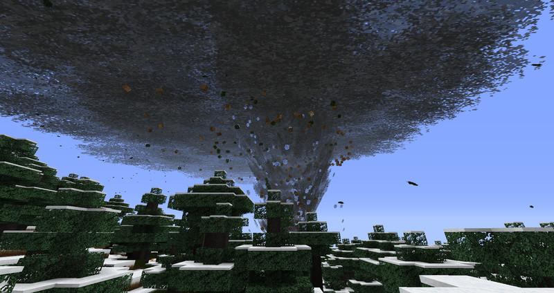 Картинки майнкрафт ураган