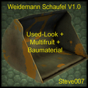 Weidemann-schaufel-multifruit