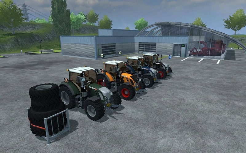 Fendt Vario 724 SCR V 1.1 Color Pack LS13 MP