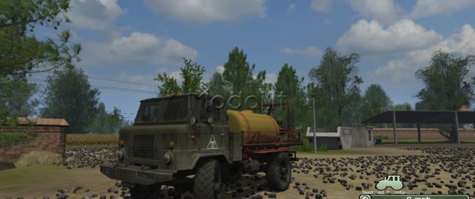 Gaz-66-sprayer