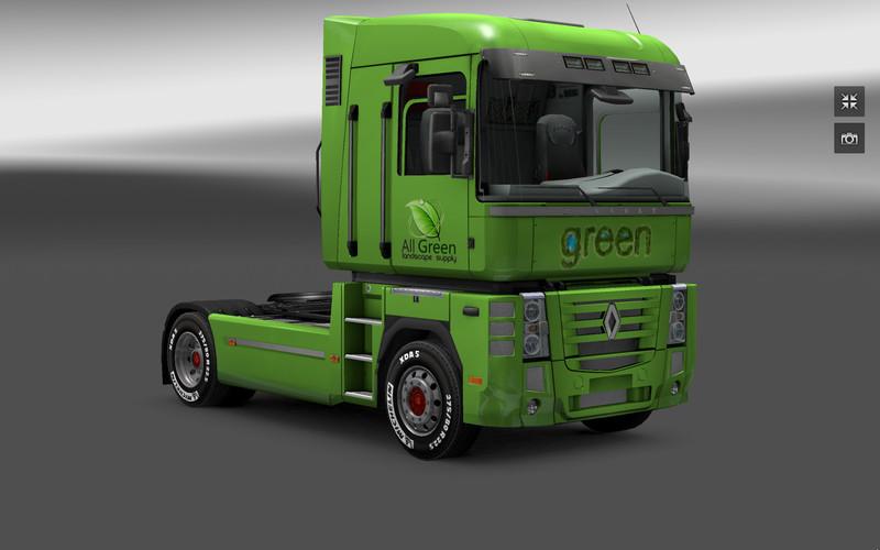 Renault magnum all green v 1 3 1