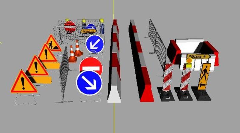 Ls 2013 ensemble dobjet de travaux public v 1 0 objekte for Pack travaux
