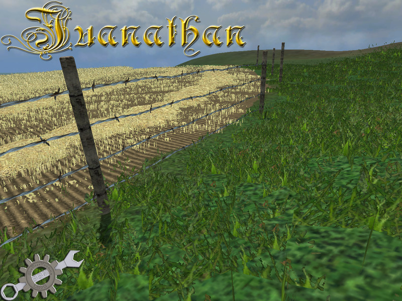 FS 2013 Valla de alambre wire fence v 10 Objects Mod fr Farming