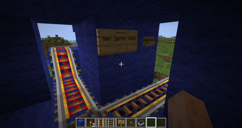 How To Build A Roller Coaster In Minecraft Ps