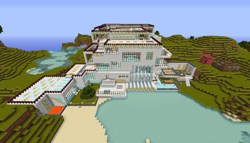 Minecraft quarzhaus v v 1 5 1 1 5 2 maps mod f 252 r minecraft